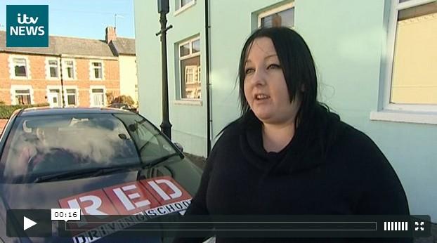 Danielle Price on ITV