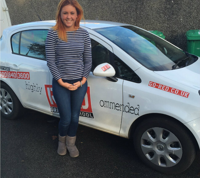 Demi Gamba RED driving school instructor