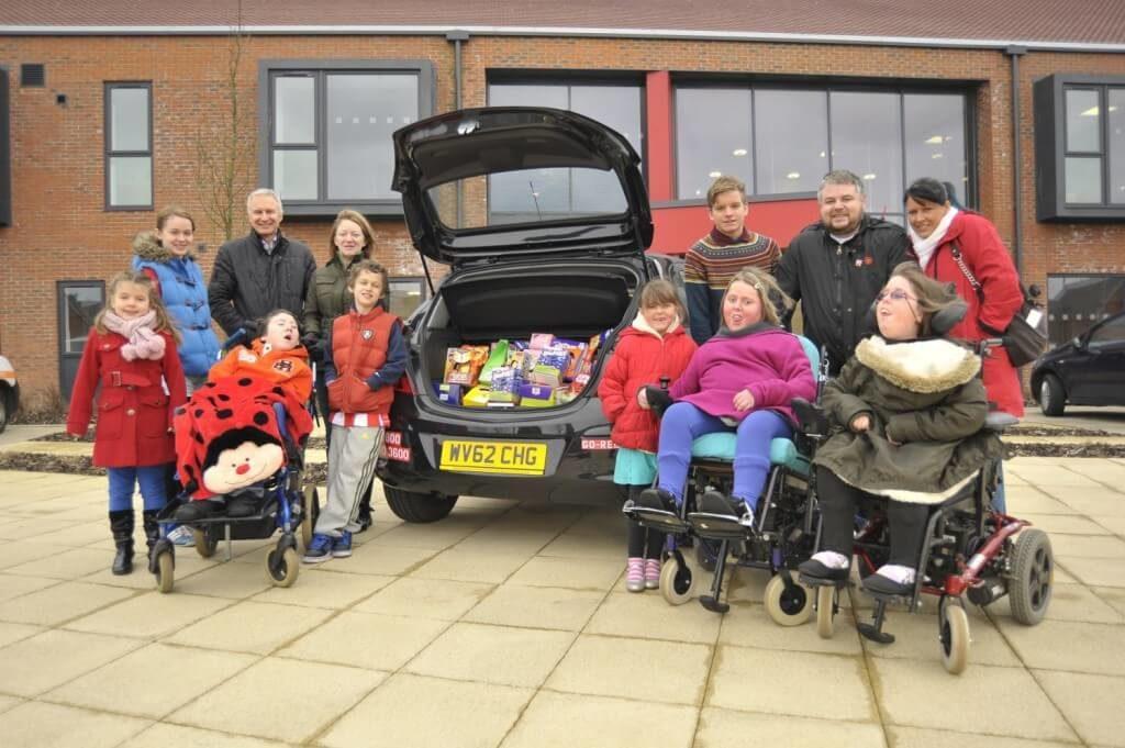 Grace House Children's Hospice in Sunderland.