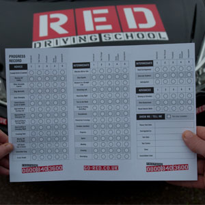RED Driving school form