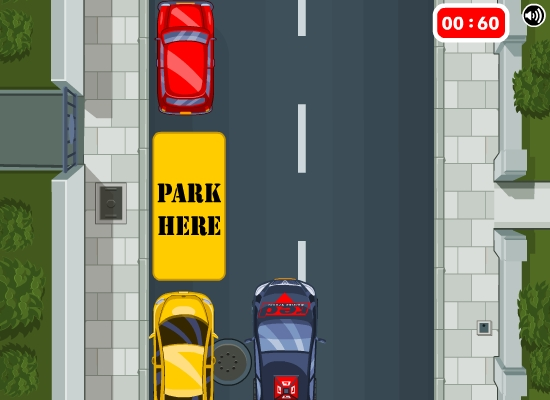 Red Driving School parking game
