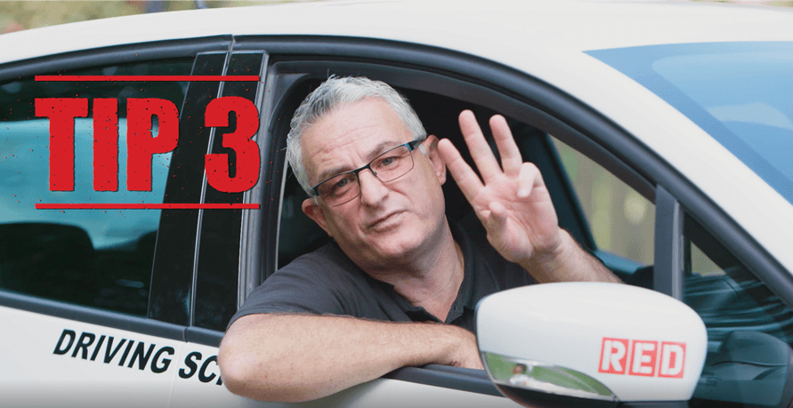 RED Driving school Tip 3