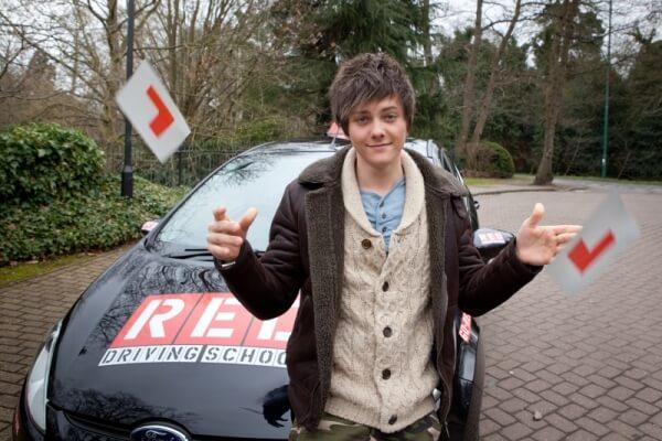 Tyger Drew-Honey passed driving test