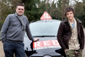 Tyger with his RED Instructor Paul Danby