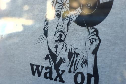 Wax on art
