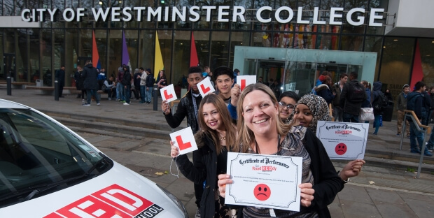 RED visits City of Westminster College