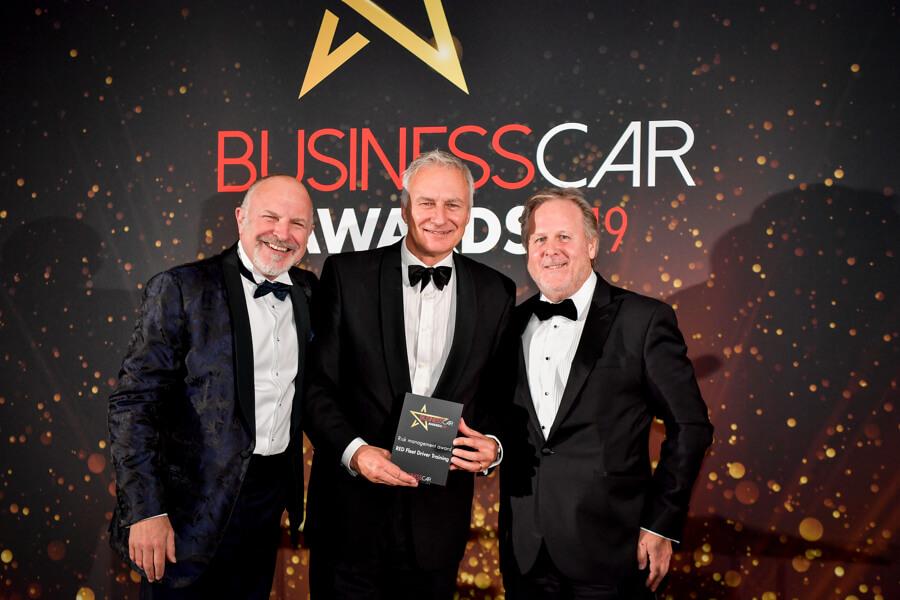 Ian McIntosh at Business Car Awards 2019
